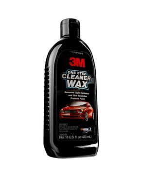 3M One Step Cleaner Wax, 473 ml, 39006 logo