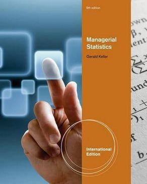 Managerial Statistics: International Edition