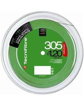 Tecnifibre Reel .200m 305 Green 1,20 logo