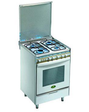 Kiriazi 6400 Gas Stainless Steel Cooker - 4 Burners