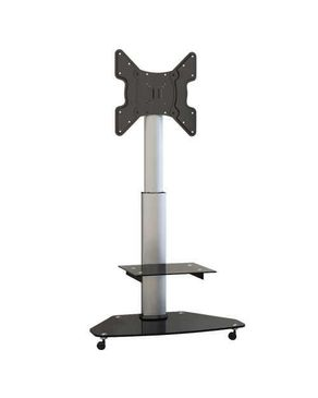 FS02G - Contemporary Height Adjustable TV Cart For 32