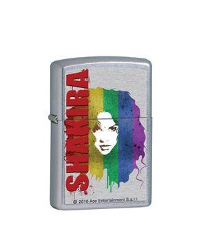 Zippo 28028 Shakira Pop Art Chrome Lighter logo
