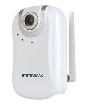 Systemmax IP CAM-N1350-H.264 VGA Wireless Cube Camera