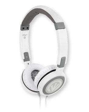 iFrogz Audio Frequency Headphones - White