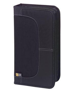 Case Logic 72 Capacity Nylon CD Wallet – Black