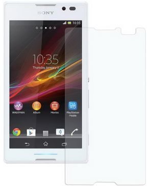 Generic High Definition Series Screen Guard For Sony Xperia C
