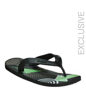 Dupѐ Black Summer Slippers logo