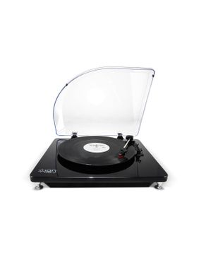 Ion PURE LP Black USB Conversion Turntable for Mac