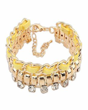 Dinardo Dinardo fashion statement bracelet logo