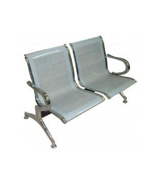 Sunny Metal 2 seat - Silver - sofa metal