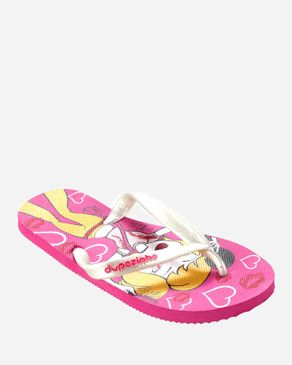 Dupѐ Fuchsia Flip Flop for Girls logo
