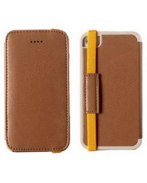PU Leather Case (MY LOVE) - APPLE iPhone 5s 5 Brown