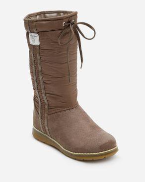 Viscon Mid-Calf Suede Boots - Coffee logo