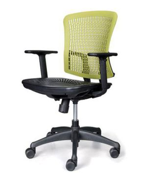 Sunny Metal C20 Raw Rubber Chair - Light Green