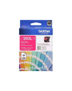 Brother LC-565XL M Magenta Color Ink Cartridge