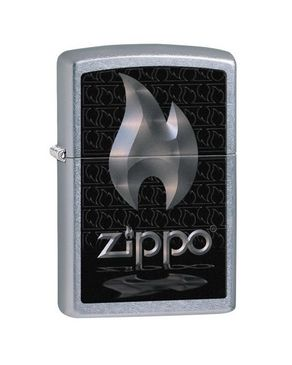 Zippo ZP-28445 zippo Classic Lighter - Silver logo