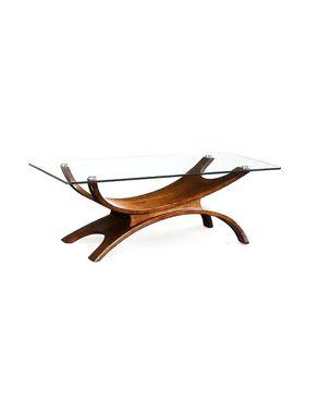 Lospazio S131-Coffee Table - Brown