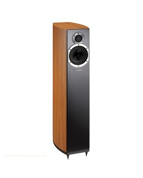 Wharfedale Diamond 10.3 2-way Floor Standing Speaker Cinnamon Cherry logo