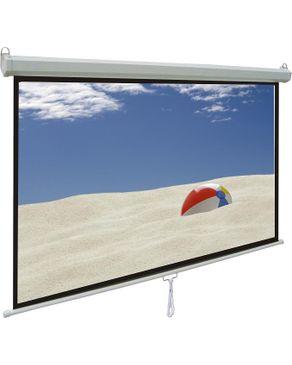 Windon شاشة عرض حائطى أو سقفى بالفرامل مقاس 180 سم × 180 سم