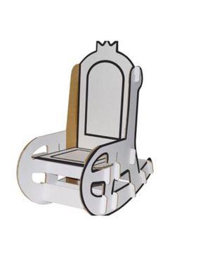 Villa Carton JP000.435.1 Rocking Chair-white logo