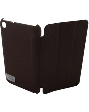 PC Touch Leather Flip Cover for Lenovo A3000 - Brown
