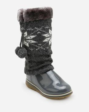 Viscon Winter Boots - Dark Grey logo