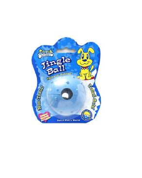 Soliel Rubber Toy Jungle Ball with bell