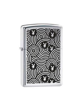 Zippo 28075 Playboy Bunny Spiral Lighter logo