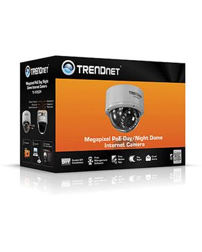 TRENDnet Megapixel PoE Day / Night Dome Network Camera