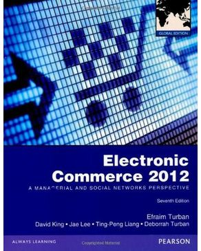Electronic Commerce 2012: Global Edition