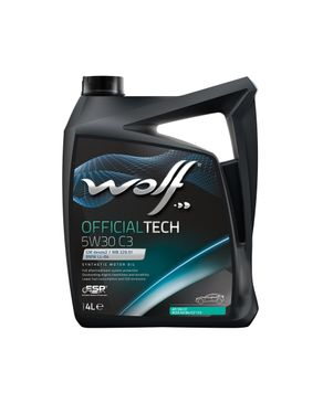 Wolf OfficialTech 5W30 C3 - 4 Liters logo