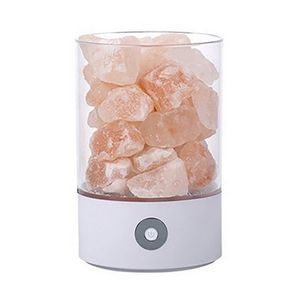 Healthy Life Himalayan Natural Crystal Salt Light Home Bedroom Night Lamp white