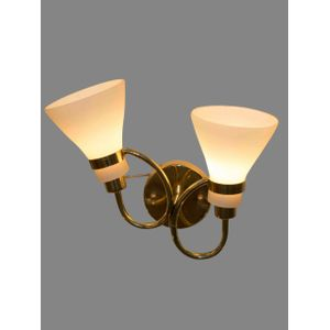 Modern Double Decorative Lamp - Gold