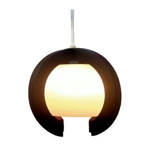 Wooden Lamp - 30*30*30 Cm - Brown