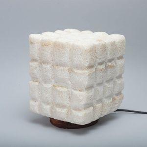 Siwa Salt Side Lamp - 20 Cm