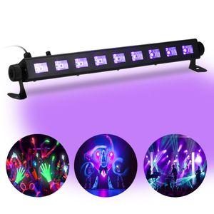Tomshine Dimmable LED UV Bar Black Light Lamp Fixture