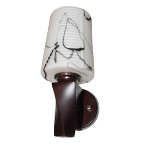 Single Modern Decorative Wall Lamp - Wood