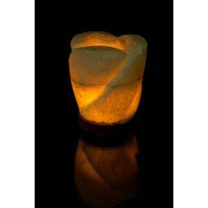 أباجورة الملح الصخري – أبيض
