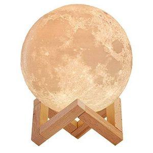 Y5-205 مصباح القمر - بألوان مختلفة ويتضمن مكبر صوت بلوتوث
