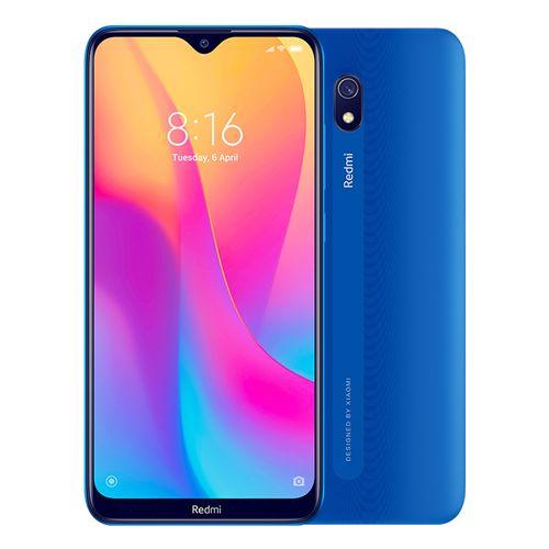 Redmi 8A - 6.2-inch 32GB/2GB Dual SIM 4G Mobile Phone - Ocean Blue