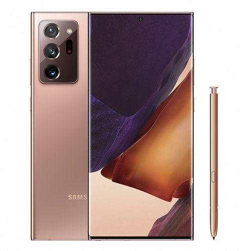 Samsung Galaxy Note20 Ultra - 6.9-inch 256GB/8GB Dual SIM 4G Mobile Phone - Mystic Bronze