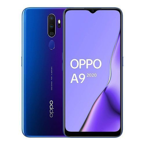 A9 (2020) - 6.5-inch 128GB/8GB Dual SIM Mobile Phone - Space Purple