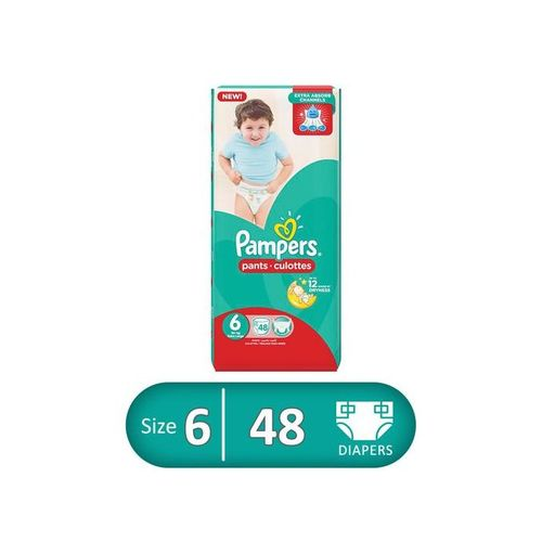 Baby Pants Diapers - Size 6 - 48 Pcs