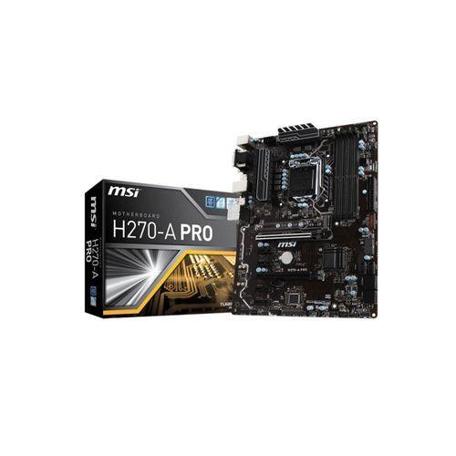 MSI H270-A PRO LGA 1151 - 2-Way CrossFireX - ATX Motherboard