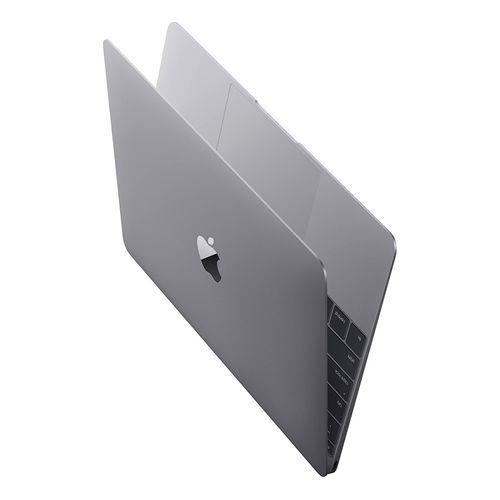 Apple MacBook 12 (2017) MNYF2LL/A - Intel Core m3 - 8 جيجا بايت رام - 256 جيجا بايت فلاش - 12-بوصة Retina شاشة - Intel مُعالج رسومات - MacOS - رمادي - لوحة مفاتيح باللغة الأنجليزية