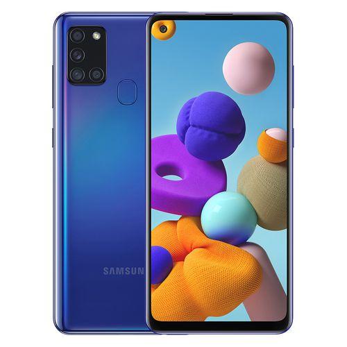 Galaxy A21s - 6.5-inch 64GB/4GB Dual SIM Mobile Phone - Blue