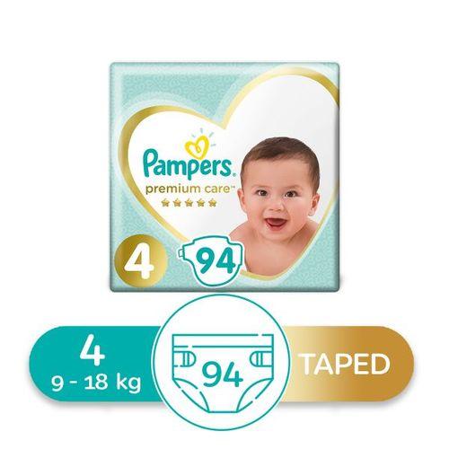 Premium Care Diapers - Size 4 - 94 Pcs