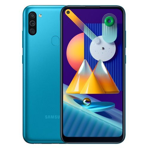 Galaxy M11 - 6.4-inch 32GB/3GB Dual SIM Mobile Phone - Metallic Blue