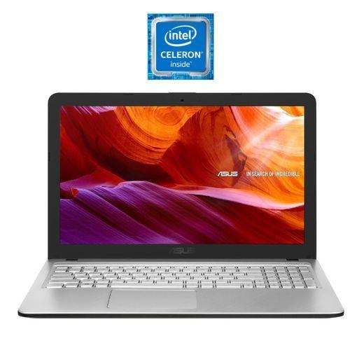 X543MA-GQ1014T Laptop - Intel Celeron N4020 - 4GB RAM - 1TB HDD - Intel GPU - 15.6-inch HD - Windows 10 - Silver