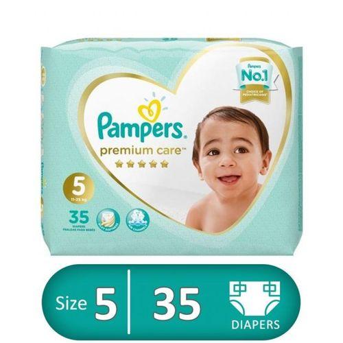 Premium Care Diapers - Size 5 - 1 Pack - 35Pcs